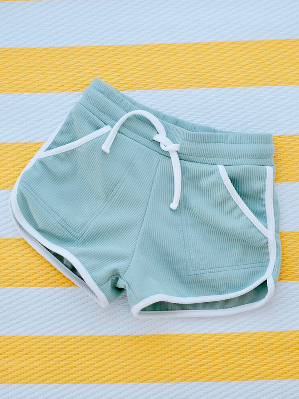 Ringer Shorts | Honeydew