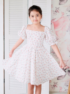 Hailey Dress | Pink Cherry