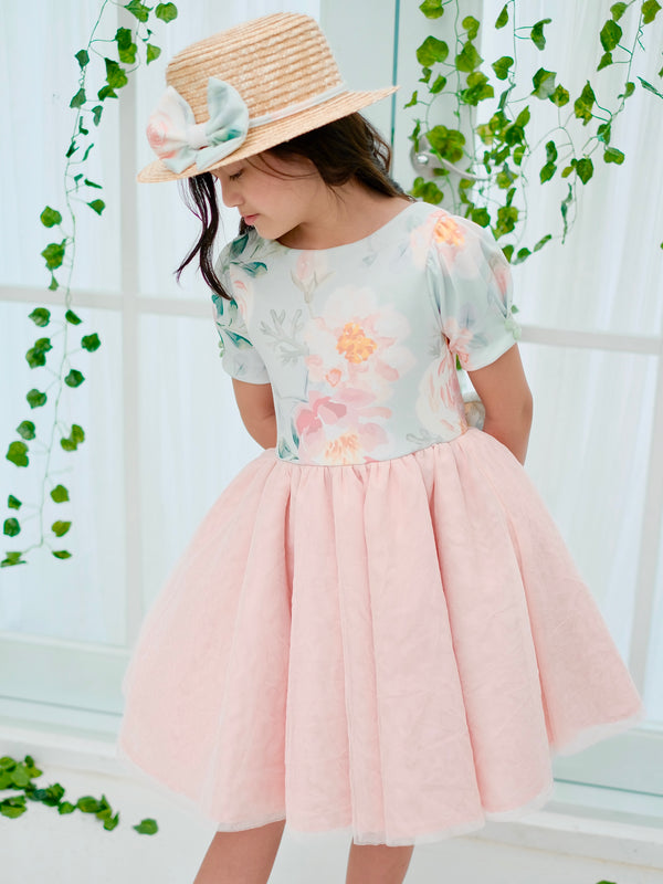 Beatrice Dress | Set with Bow