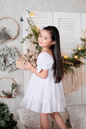 Maisie Dress - Set with Bow