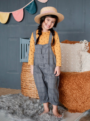 Penny Overalls (Gray)