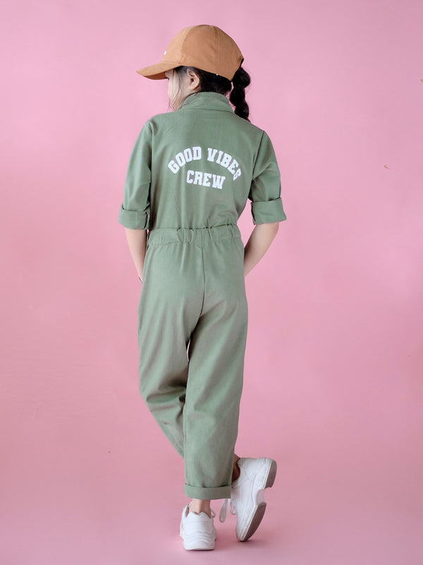 Good Vibes Crew Utility Jumpsuit