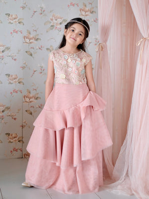 Lucille Tiered Gown (O.A.K)