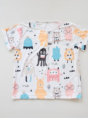 Monster Print Shirt