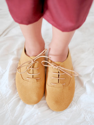 Ashton Shoes | Mustard