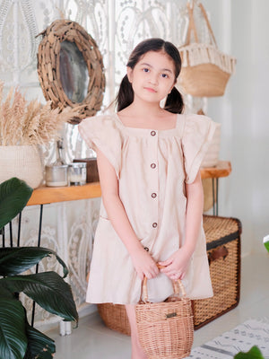 Esmae Dress | Latte