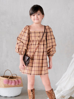 Harlow Dress (Plaid)