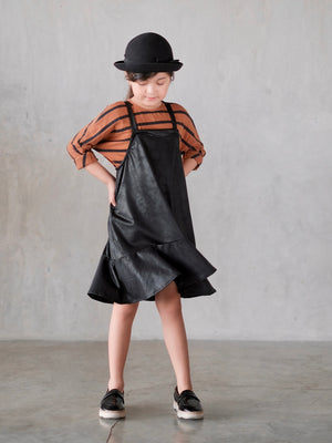 Charlie Jumper Dress / Leatherette