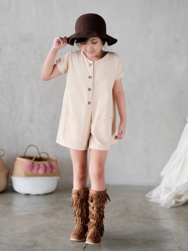 Calla Linen Playsuit