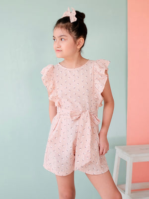 Nellie Playsuit Set with Bow
