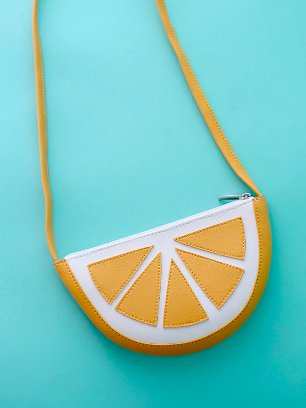 Lemon Cross-body Purse