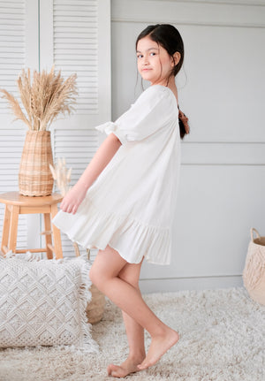 Brienne Doll Dress | Linen