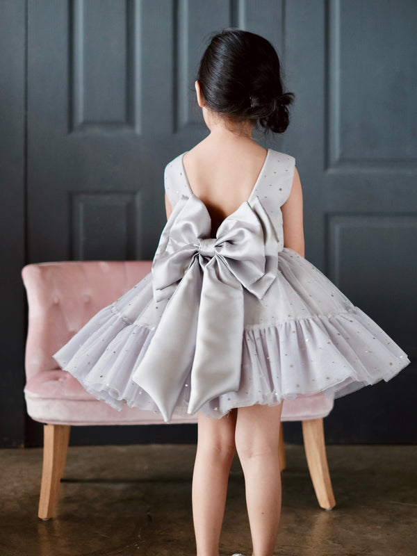 Celestina Dress | Starry Sky Gray