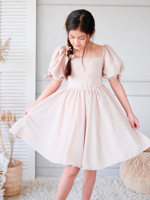 Hailey Dress | Beige