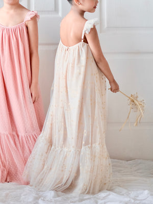 Astrid Maxi Dress | Champagne & Gold