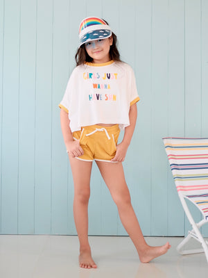 'Girls Just Wanna Have Sun' Byron Top