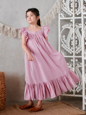 Wila Dress with Bow Sash