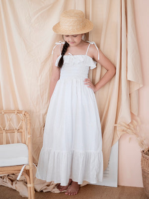 Evie Dress | White