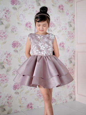 Darla Dress (Dusty Plum)