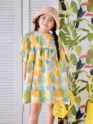 Milani Pineapple Print Dress
