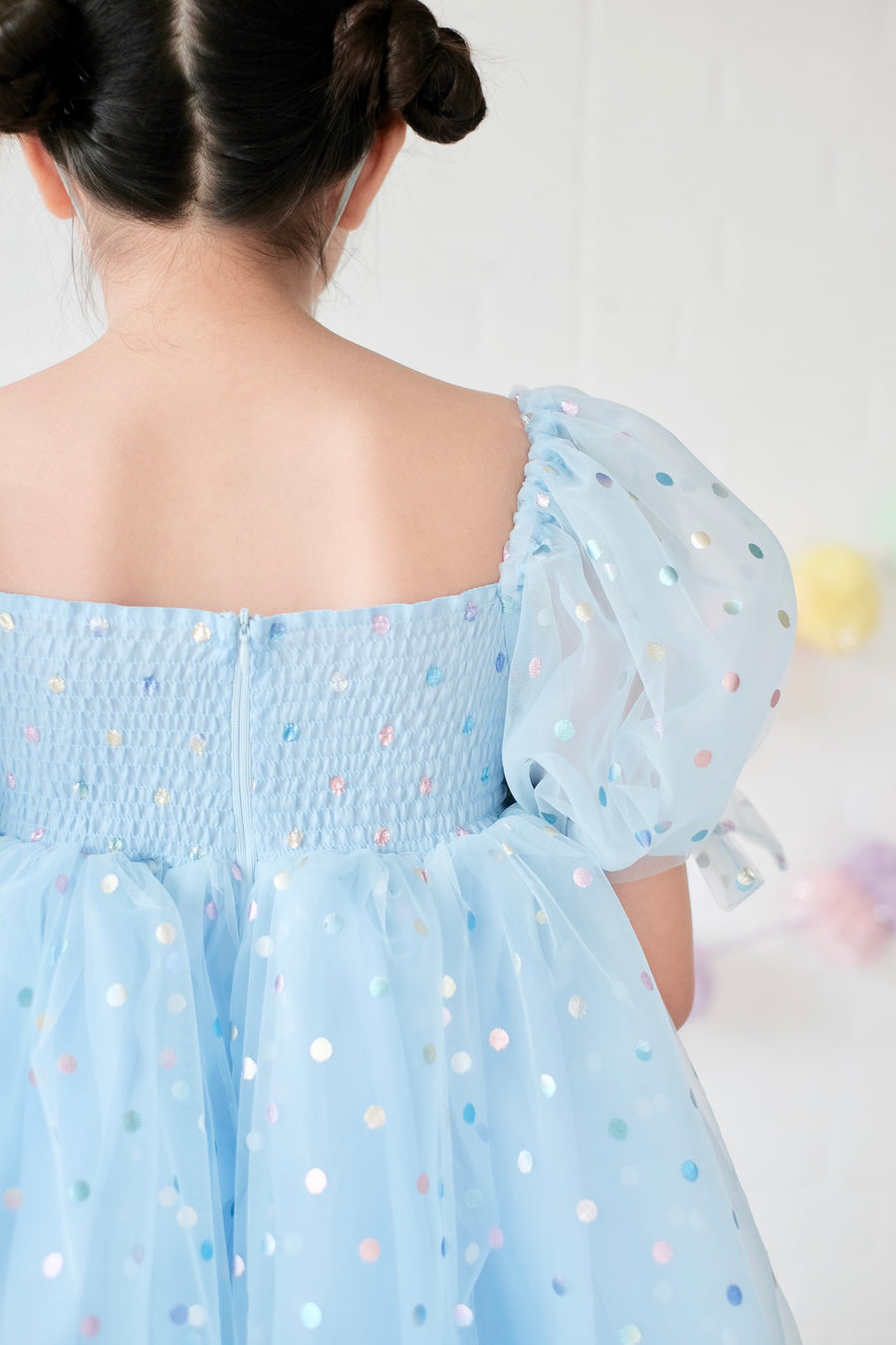 Polly Doll Dress | Rainbow Confetti