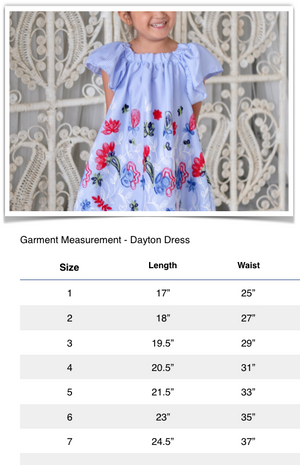 Dayton Embroidered Sundress