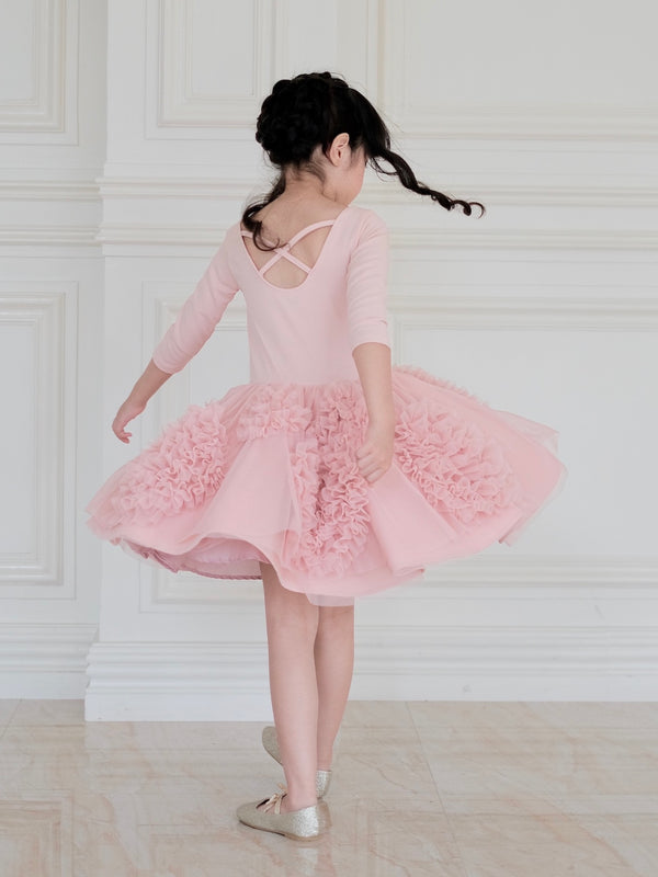 Florence Tutu Dress (Dusty Pink) - Ready to Ship
