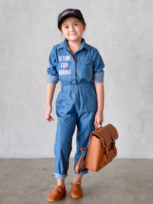 [No Time for Boring] Utility Jumpsuit
