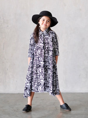Asher Long Shirt Dress