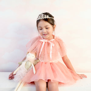 Sugar Plum Fairy Tutu Dress with Capelet
