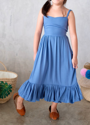 Kalia Dress (Seaport Blue)