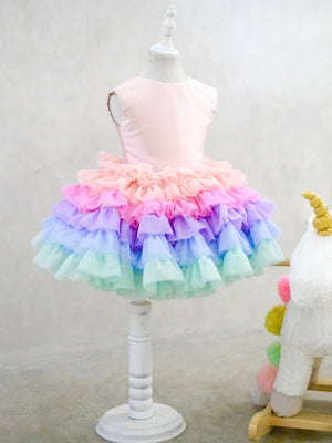 Unicorn Tutu Dress & Headpiece Set - Preorder (12/19/2018)
