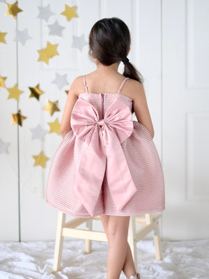 Laurentine Dress (Dusty Pink)