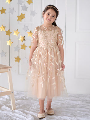 Martina Dress (Gold) - O.A.K