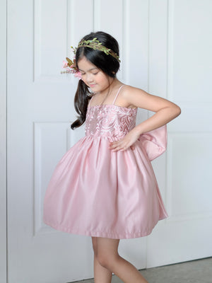 Laurentine Dress (Blush)
