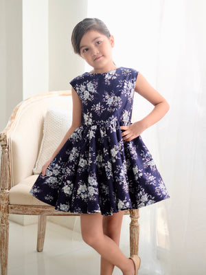 Anita Convertible Dress (Blue)