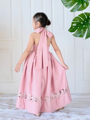 Isabela Dress (Tea Rose)