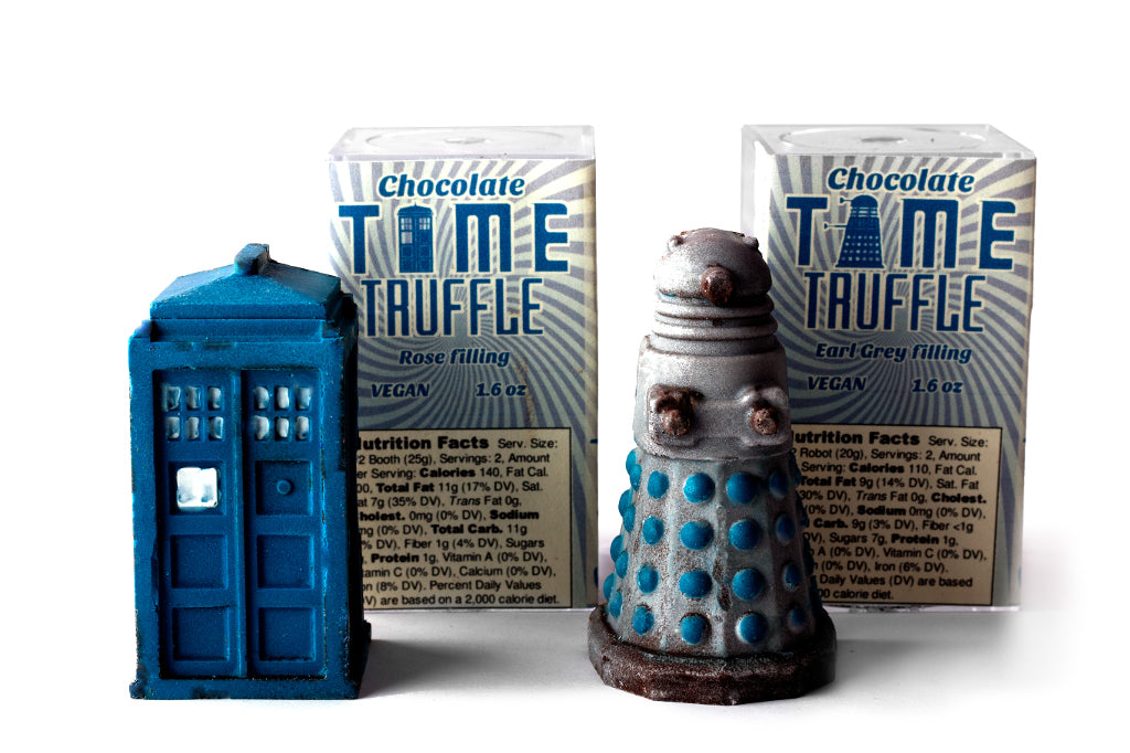 Chocolate Tardis and Dalek - Jon Good