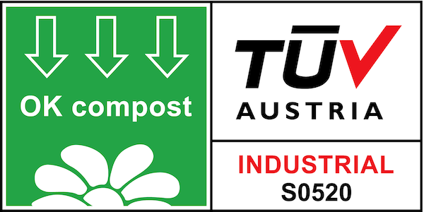 TUV Austria OK compost certification - Moving Beans Coffee