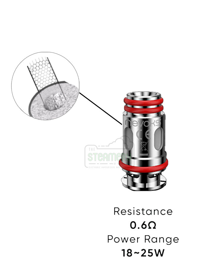 Nevoks Feelin pod SPL-10 coils - Steam E-Juice | The Steamery