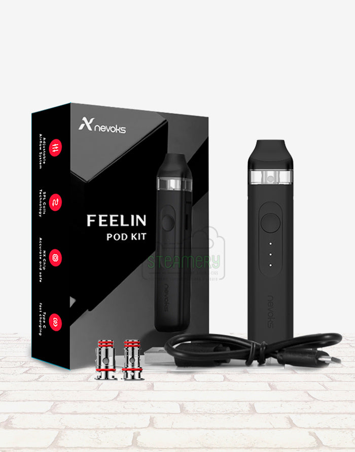 Nevoks Feelin pod kit - Steam E-Juice | The Steamery