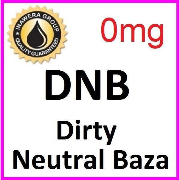 Inawera Dirty Neutral Base - Steam E-Juice | The Steamery