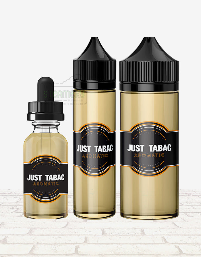 Just Tabac - Aromatic - Steam E-Juice | The Steamery