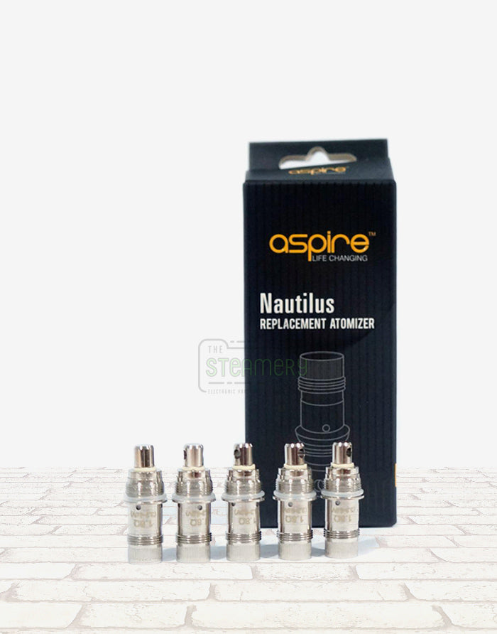 Aspire Nautilus BVC Coils - Steam E-Juice | The Steamery