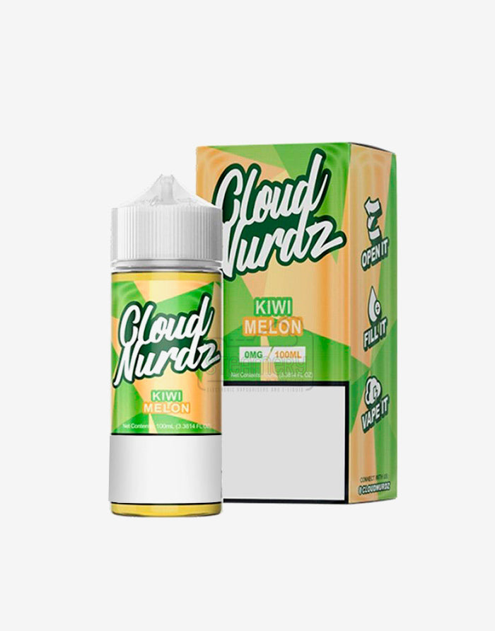 Cloud Nurdz Kiwi Melon 100ml - Steam E-Juice | The Steamery