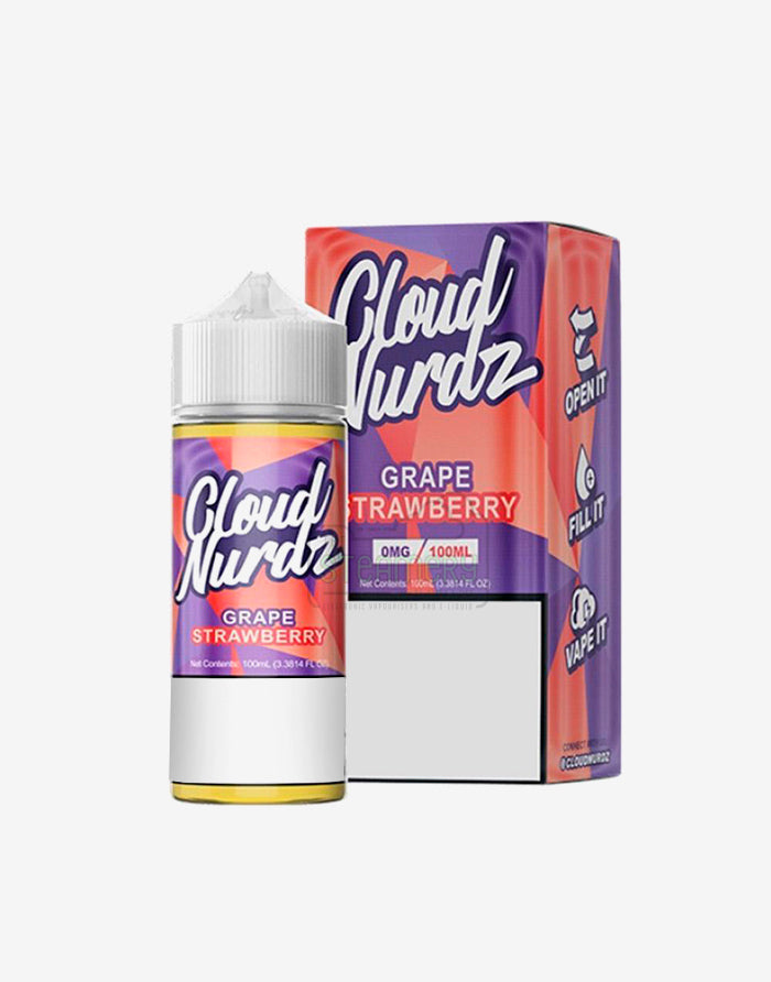 Cloud Nurdz Grape Strawberry 100ml - Steam E-Juice | The Steamery