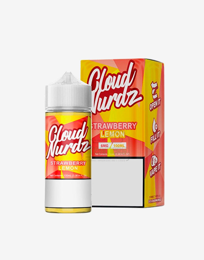 Cloud Nurdz Strawberry Lemon 100ml - Steam E-Juice | The Steamery