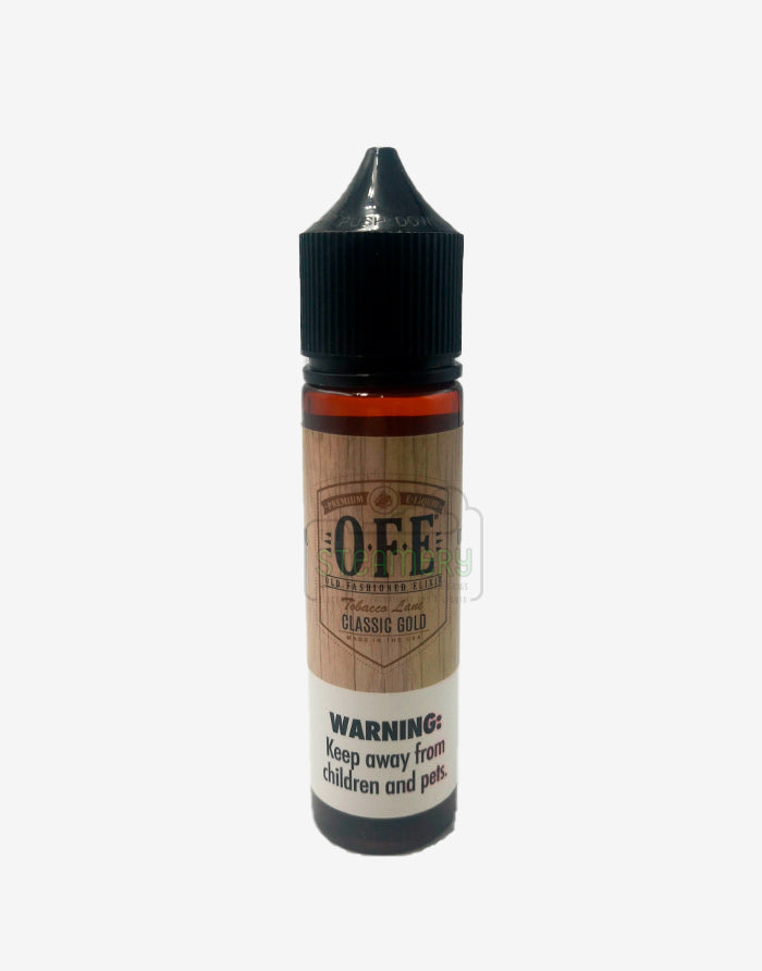 Classic Gold - Old Fashioned Elixir 60ml - Steam E-Juice | The Steamery