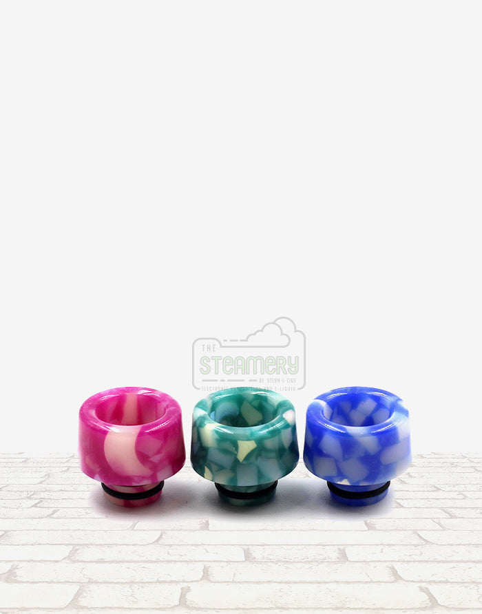 510 Wide Resin Drip Tip - SL243 - Steam E-Juice | The Steamery