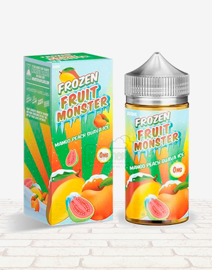 Mango Peach Guava Ice - Steam E-Juice | The Steamery
